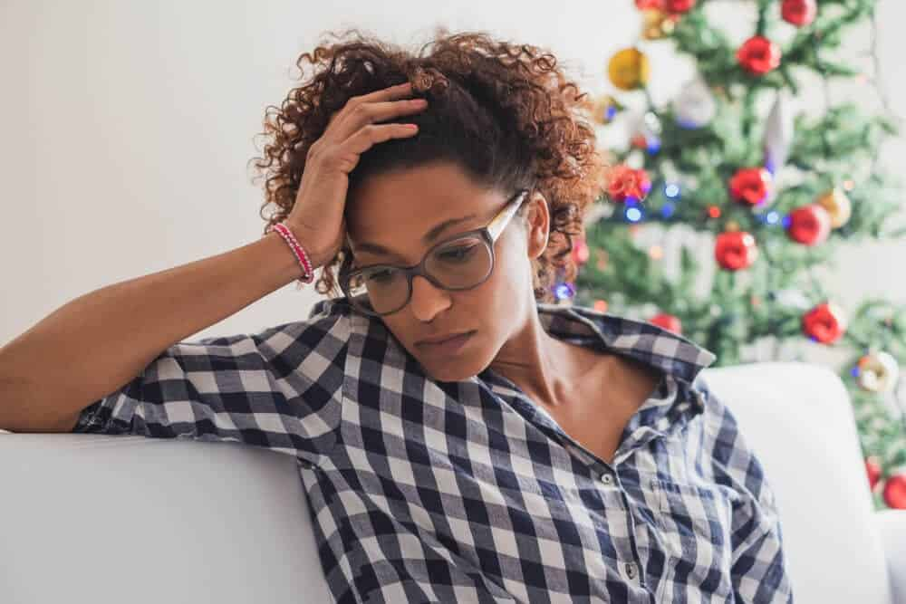 Young Woman Christmas | Social Anxiety | Beachside